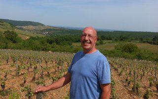 Pierre Fenals dans ses vignes - Le Clan des Sens