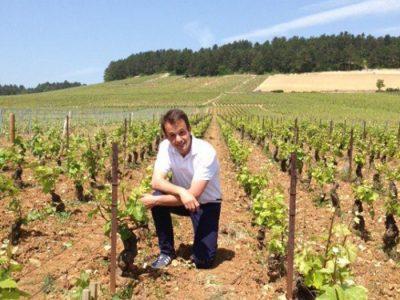 François Bitouzet dans ses vignes - Le Clan des Sens