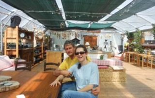 Anne et Pierre Magnani à Nice - Le Clan des Sens