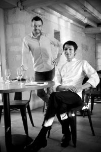 Fabien Espana et Ryo Nagahama - restaurant Au Fil du Zinc - Le Clan des Sens