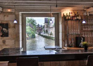 Salle restaurant Au Fil du zinc - Le Clan des Sens