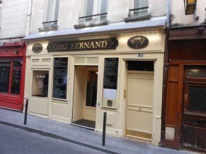 Restaurant Chez Fernand - 75006 Paris - Le Clan des Sens